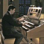 Laszlo ved orglet
